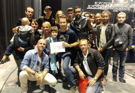 Les enfants au spectacle de Stéphane Rousseau (15 octobre 2014)